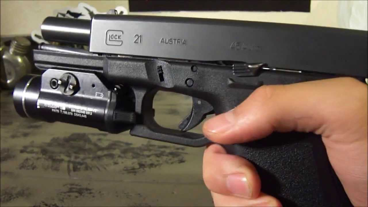 How To Install An Extended Slide Release On A Glock Hd Youtube