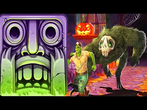 Temple Run 2 -  New Halloween Map Spooky Summit