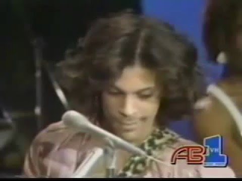 Prince In His TV Debut