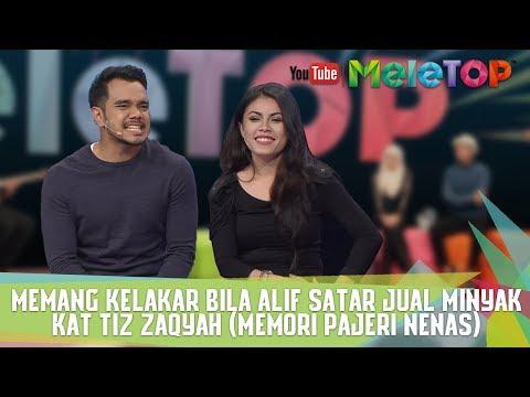 Download lagu Memang kelakar bila Alif Satar JUAL MINYAK kat Tiz Zaqyah (Memori Pajeri Nenas)