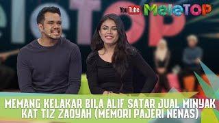 Memang kelakar bila Alif Satar JUAL MINYAK kat Tiz Zaqyah MP3
