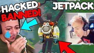 Ninja Tries New Jetpack, Myth Gets Hacked | Ninja VS Myth #2