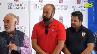 Diputación de Almería presenta el II Circuito Provincial de Rugby Playa