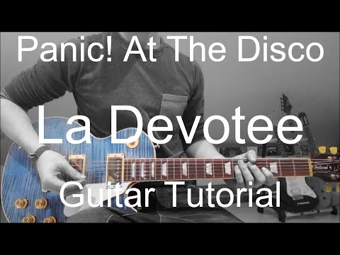 Panic! At The Disco: LA Devotee (GUITAR TUTORIAL/LESSON#162)