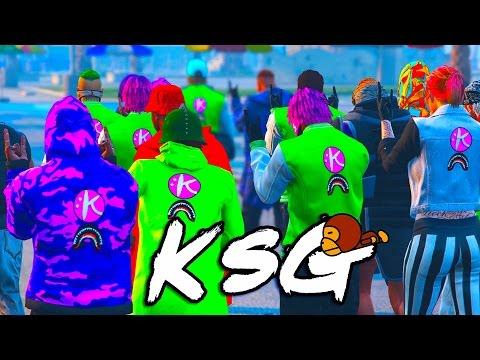 GTA 5 - KRYPTO X BAPE WITH KSG