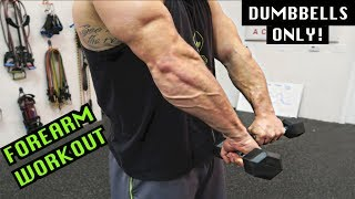 Intense 5 Minute Dumbbell Forearm Workout #2