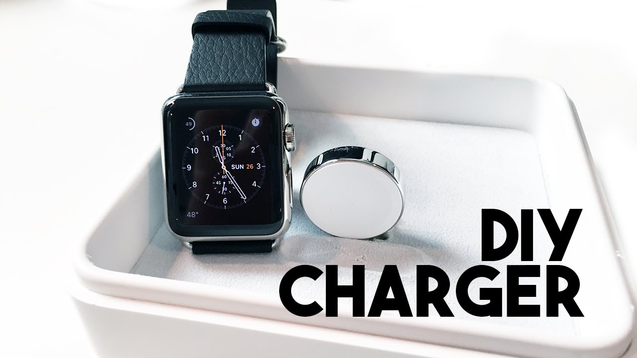 Diy Apple Watch Charging Box Youtube