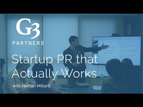 Startup PR that Actually Works