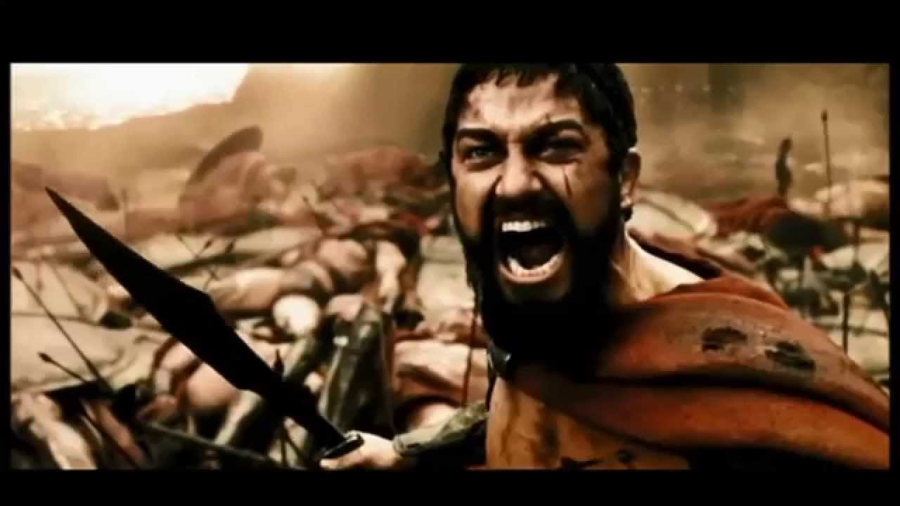 300 Full Movie >> 300 ultimas palabras de Leonidas - YouTube