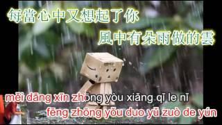 Tình như gió như mưa - 风中有朵雨做的云 - karaoke