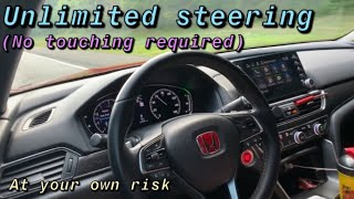 How to make Honda sensing fully autonomous (NO steering touch required)