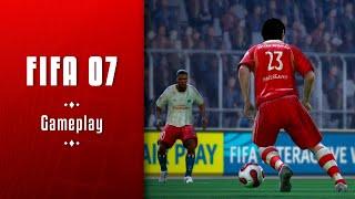FIFA 07 || Jugando contra los galácticos