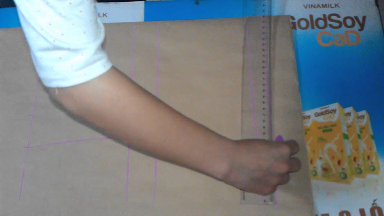 Học cắt may - Hướng dẫn cắt áo sơ mi nữ (Phần 2)