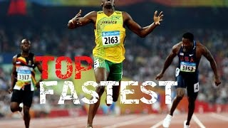 FASTEST HUMANS 2016 | BEST SPRINTERS RECORDS | 100 M RUNNERS | TOP 5