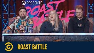 Roast Battle – Sara Karas vs. Niklas Siepen & Christin Jugsch vs. Simon Stäblein