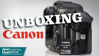 Unboxing Review - Canon EOS 7D MARK II BODY WI-FI ADAPTER KIT