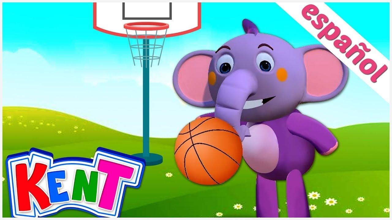 Kent el elefante | Canciones infantiles animadas | ¡Juguemos y hagamos DEPORTE!