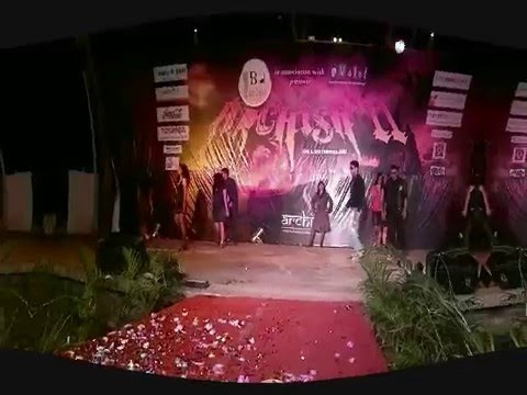 Fashion Show - Management Fest @ Indian Business Academy, Bangalore