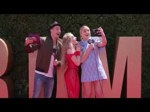 Sabrina Carpenter - Red Carpet Interview RDMA 2017