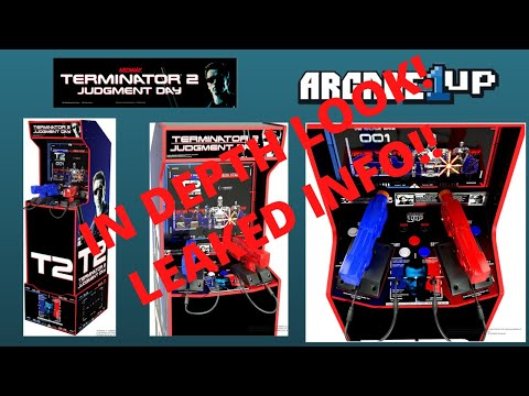 Arcade1up - Terminator 2 Judgment Day In Depth Look!! from PsykoGamer
