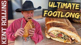 Ultimate Footlong Hot Dog | Grilled Hot Dog Recipe