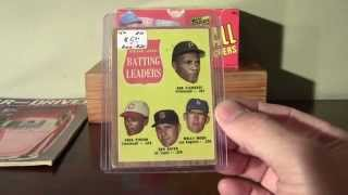Flea Market Baseball Cards