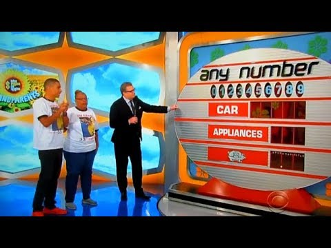 The Price is Right - Any Number - 1/5/2018
