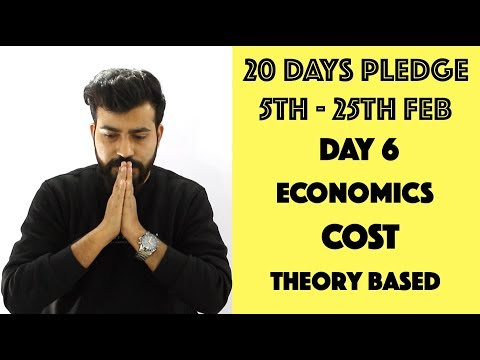 Day- 6 - Cost - Theory & Graphs - class 12th #20dayspledge #commercebaba