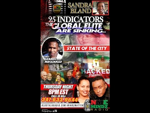 Professor Griff & ZaZa Ali Presents NMEMINDZ: Sandra Bland & The Fall of the Western World