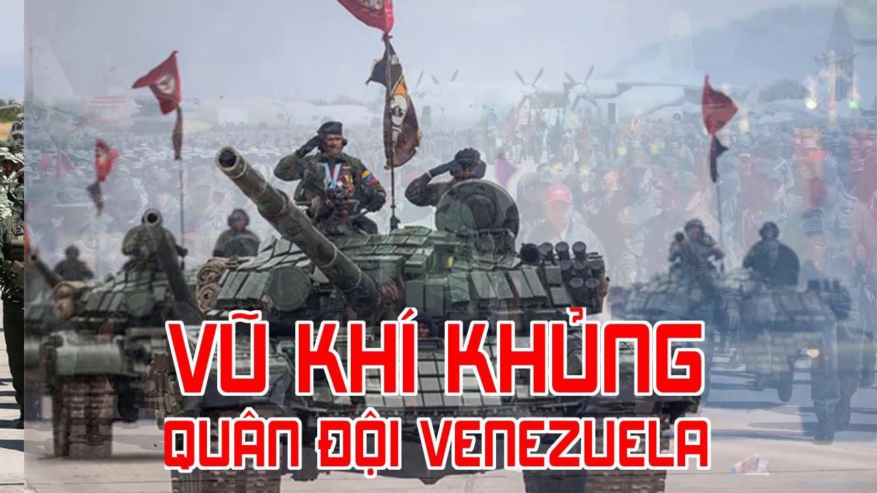 Xem vũ khí khủng của Quân đội Venezuela