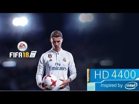 FIFA 18 on Intel HD 4400 - YouTube