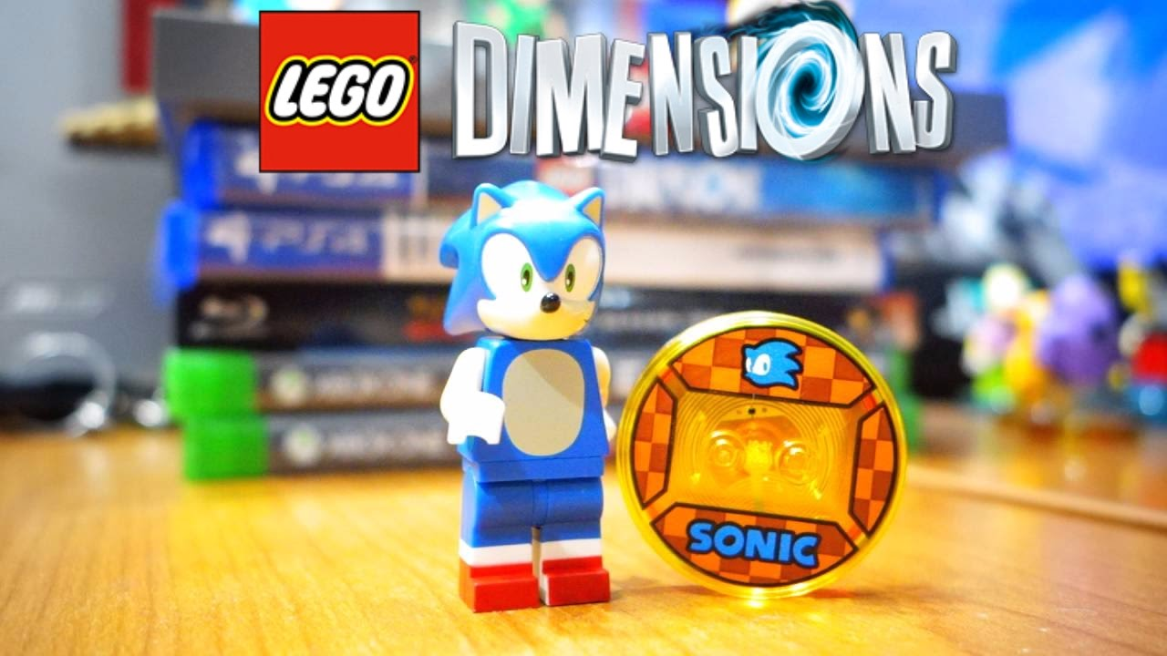 Lego Dimensions Sonic The Hedgehog Minifigure Review Youtube
