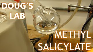 The Fischer Esterification: Methyl Salicylate