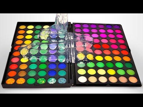Qu pasa si mezclamos muchos slimes con diferente maquillaje? Lo puedes ver en este video.