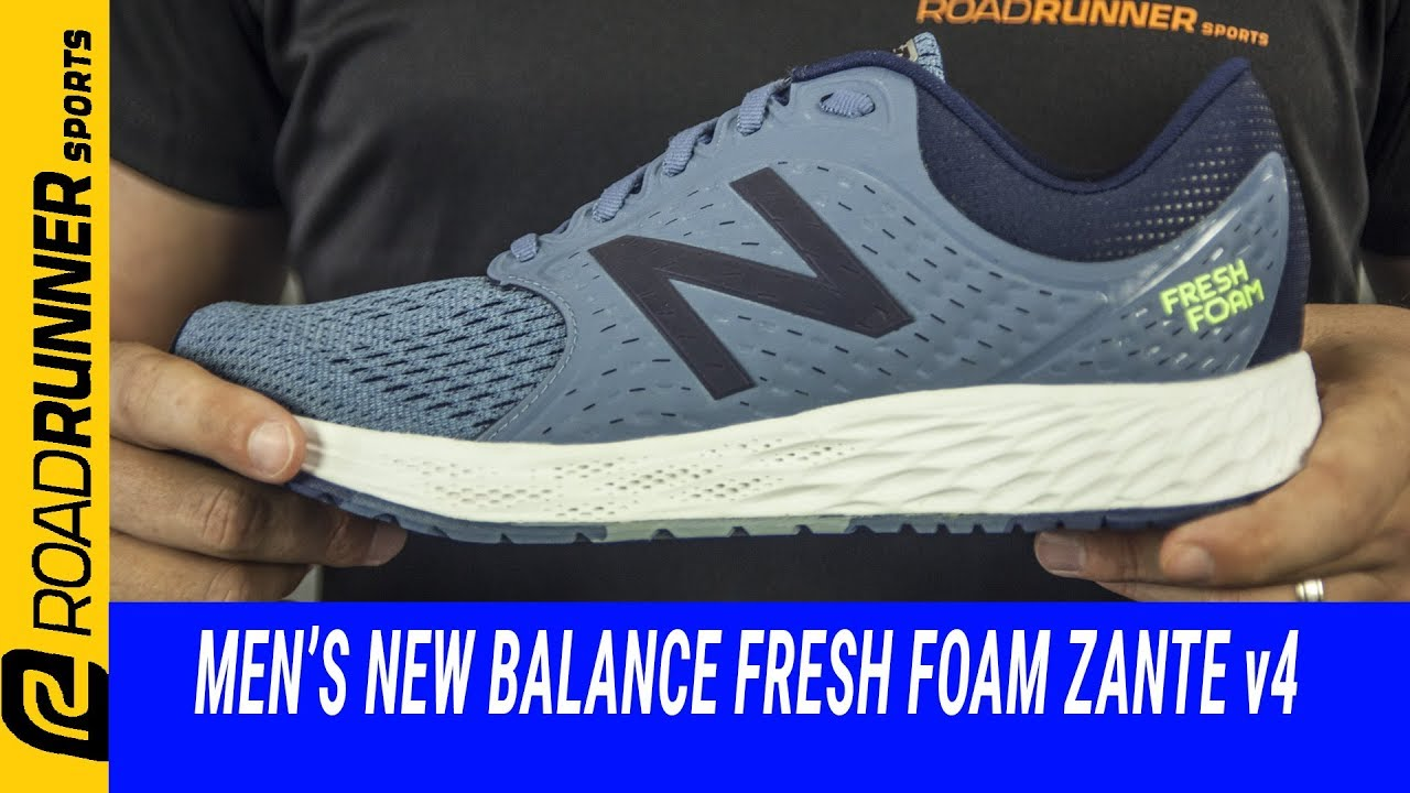 new balance fresh foam zante 4