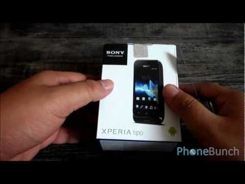 Sony Xperia Tipo Unboxing and Hands-on