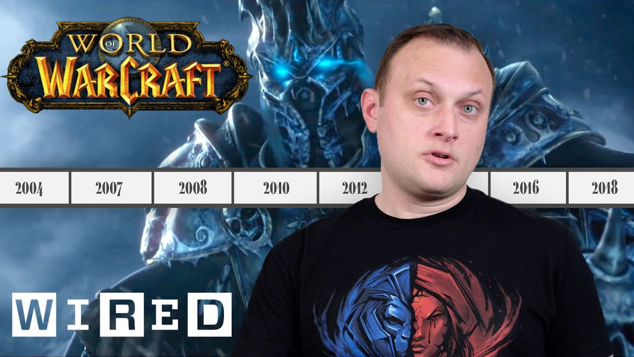 Blizzard Explains the Entire History of World of Warcraft | WIRED thumbnail