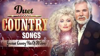 Top 50 Duet Country Love Songs Collection - Greatest Classic Country Music Of All Time