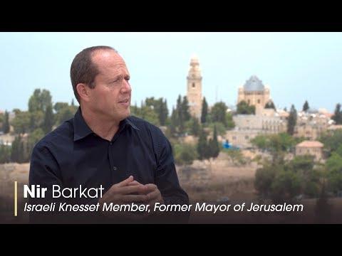 Former Jerusalem Mayor Nir Barkat's Plan To Bring Israel's