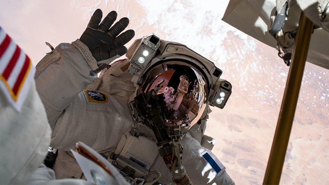 Spacewalk Outside the International Space Station – NASA
