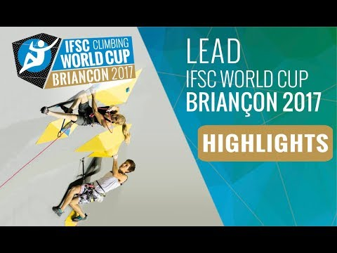 IFSC Climbing World Cup Briançon 2017 - Finals Highlights