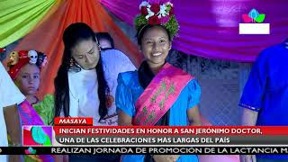 Multinoticias | Inician festividades en honor a San Jerónimo Doctor en Masaya