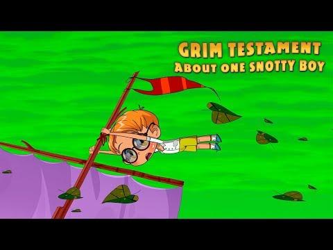 Masha's Spooky Stories - Grim Testament About One Snotty Boy (Episode 7)