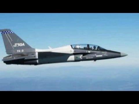 Rob Schmitt Tests Out Lockheed's New Training Jet