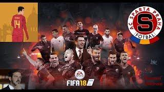 FIFA 18 /CZ/ - Liga mistrů (Kariéra) - AS Roma vs. Sparta Praha - Dočkáme se Patrika Schicka ???
