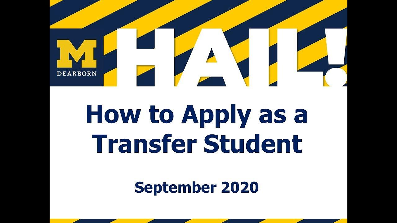 University Of Michigan Academic Calendar 2022.Apply As A Transfer Student