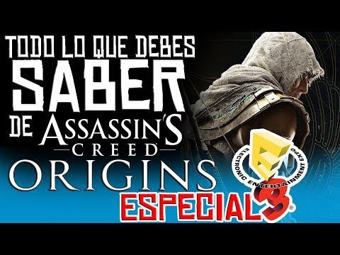 TODO sobre Assassin´s Creed: Origins - Análisis de Gameplay´s y Opinión [E3 2017]