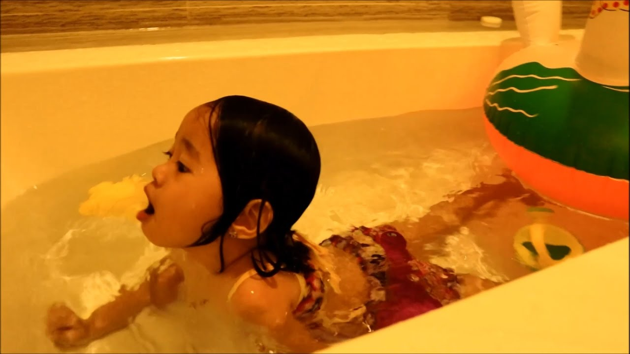 Baby Playing Toys In The BathTub Fun Donna The Explorer