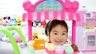 Boram Berpura-pura Bermain dengan Mainan Es Krim