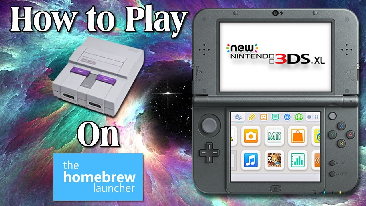 How to get blargsnes 3ds controller